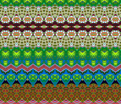 chinoise 41 fabric by hypersphere on Spoonflower - custom fabric