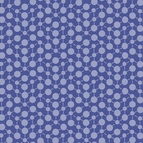 Solid Plum Dark Periwinkle Purple Texture || Dots Spots White Math  Outer space_ Miss Chiff Designs