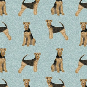 airedale terrier dog breed pet quilt b quilt coordinates dog fabric