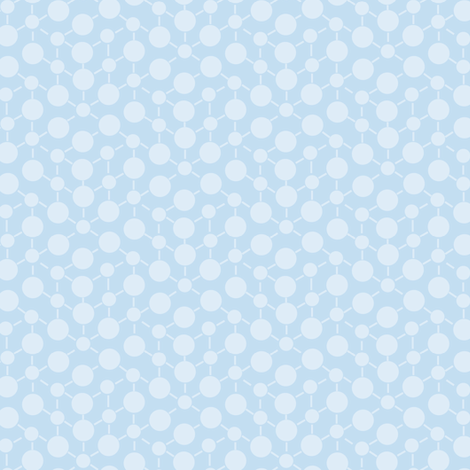 Periwinkle Blue Purple Textured  Solid || Geometric Math Dots Spots White _ Miss Chiff Designs fabric by misschiffdesigns on Spoonflower - custom fabric