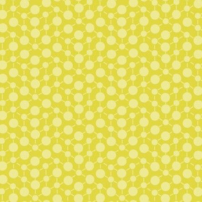 Chartreuse Solid Lemon Yellow Lime Green  || Geometric Texture Dots Spots White _ Miss Chiff Designs