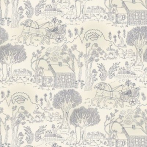 Chariot Toile Blue