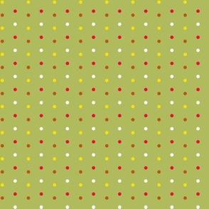 Giraffe Fantasy Polka Dots