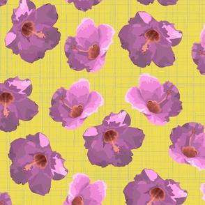 hibiscus spring crocus green