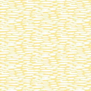 White Clouds on Lemon Pastel Yellow || Dots Spots Drops Sky _ Miss Chiff Designs