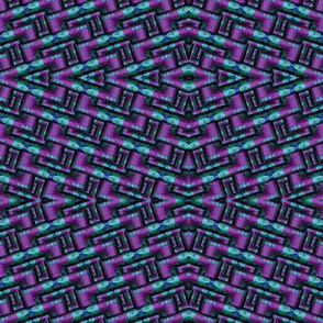 turquoise and purple square