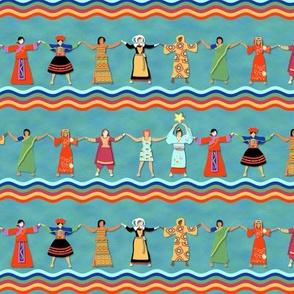 Worldwide Women Supporting Women Stripe