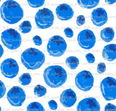 blueberry white