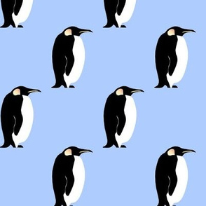 penguin blue