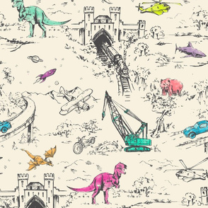 ADVENTURE TOILE_POP IVORY