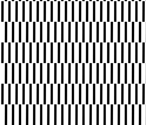 binding stripes, blk/wht-horizontal fabric by kae50 on Spoonflower - custom fabric