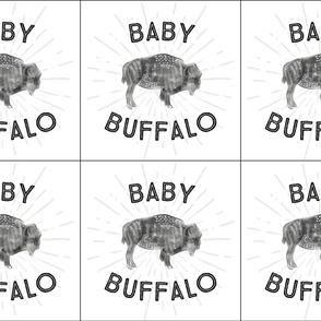 6 loveys: baby buffalo