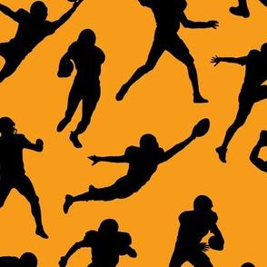 Football Players - Orange // Large