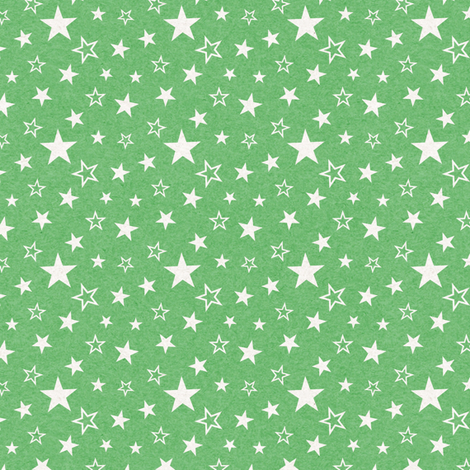 Mottled Green Stars fabric by thinlinetextiles on Spoonflower - custom fabric