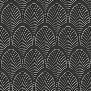 Art Deco Pattern gray