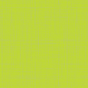 Lime Punch Crosshatch