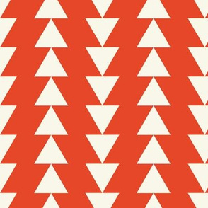 Arrows - Ivory, Red