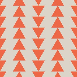 Arrows - Orange/Red - Taupe