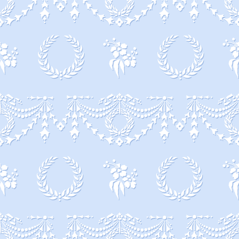 Surrey blueberry fabric by lilyoake on Spoonflower - custom fabric