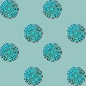 Polka Dot Ripples Blue