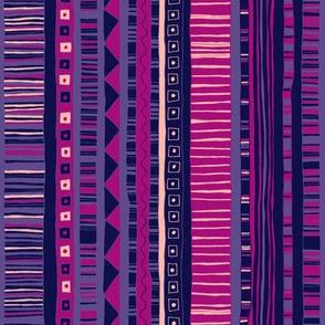Ultraviolet Kilim Stripe