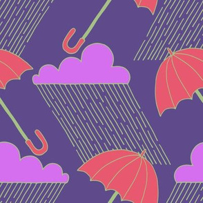 Ultraviolet Rainy Day