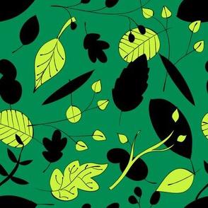 Mint & Emerald Leaf Coordinate