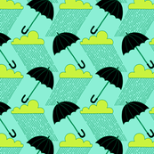 Mint & Emerald Rainy Day