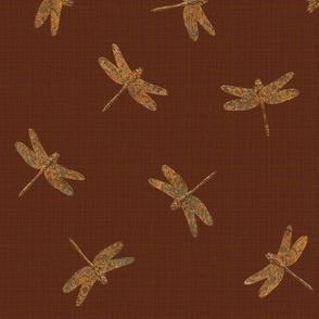 Rusty Dragonflies