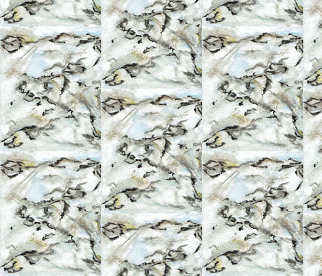 Painted Stone fabric by vandegrift_designs on Spoonflower - custom fabric