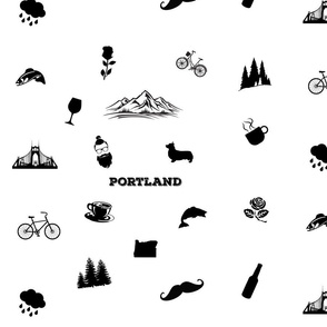 Portland Icons-Large Scale
