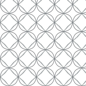 circle ogee grey trellis gray lattice fretwork