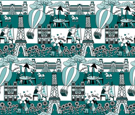 FrenchFabricDesign fabric by natalie-k on Spoonflower - custom fabric