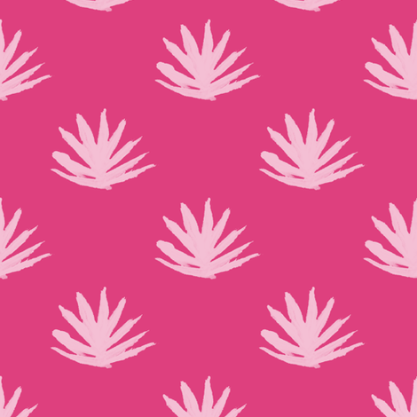 Feather Fountains 2 fabric by anniedeb on Spoonflower - custom fabric