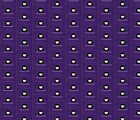 Clash's Warner in violets jumpsuit fabric by starlight_fashion on Spoonflower - custom fabric