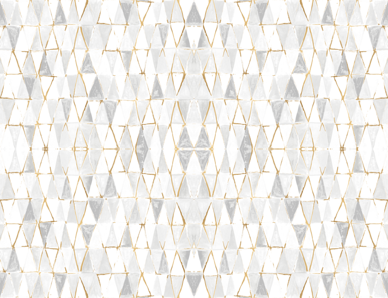 painted triangles white gold fabric crystal walen spoonflower Photoshop Gold Leaf