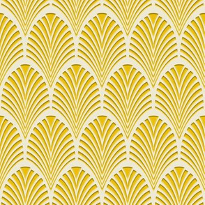 Art Deco Pattern gold
