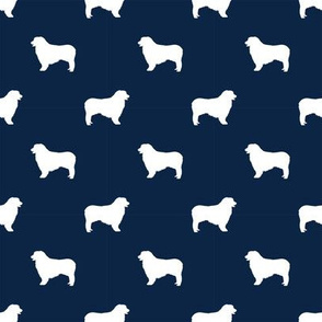 australian shepher pet quilt b blue merle quilt coordinate silhouette