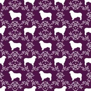 australian shepher pet quilt c blue merle quilt coordinate floral