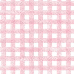 check unicorn quilt nursery fabric pink