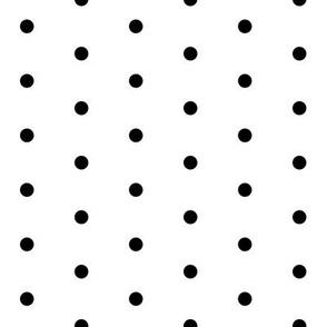 dots unicorn quilt nursery fabric bw
