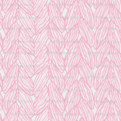 Knitting - Stitched Pink