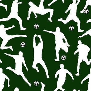 Soccer Players // Dark Green // Large