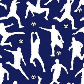 SoccerPlayers // Dark Blue // Large