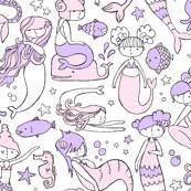 Mermaid (Pastel) X-Small