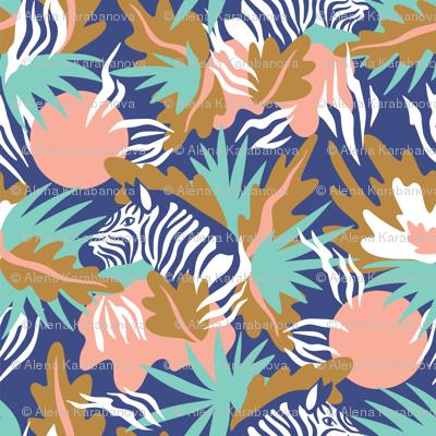 Tropical zebra