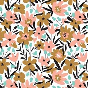 Simple cute  flowers