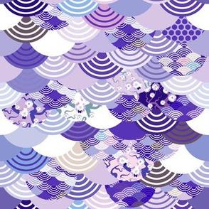 ultraviolet scales simple japanese sakura flower