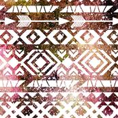Ethnic pattern. Watercolor