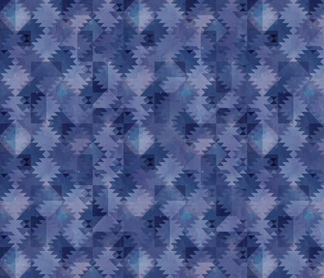 Kilim ultraviolet coordinate fabric by adenaj on Spoonflower - custom fabric